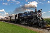 Tren de vapor. — Foto de Stock