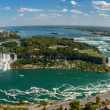 Niagara Falls-panorama — Stock Photo