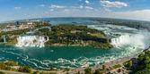 Niagara Falls-panorama — Stock Photo