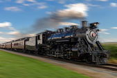 Steam train — Stock Photo