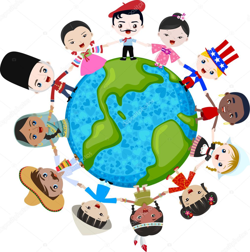 Multicultural: Multicultural Children On Planet Earth