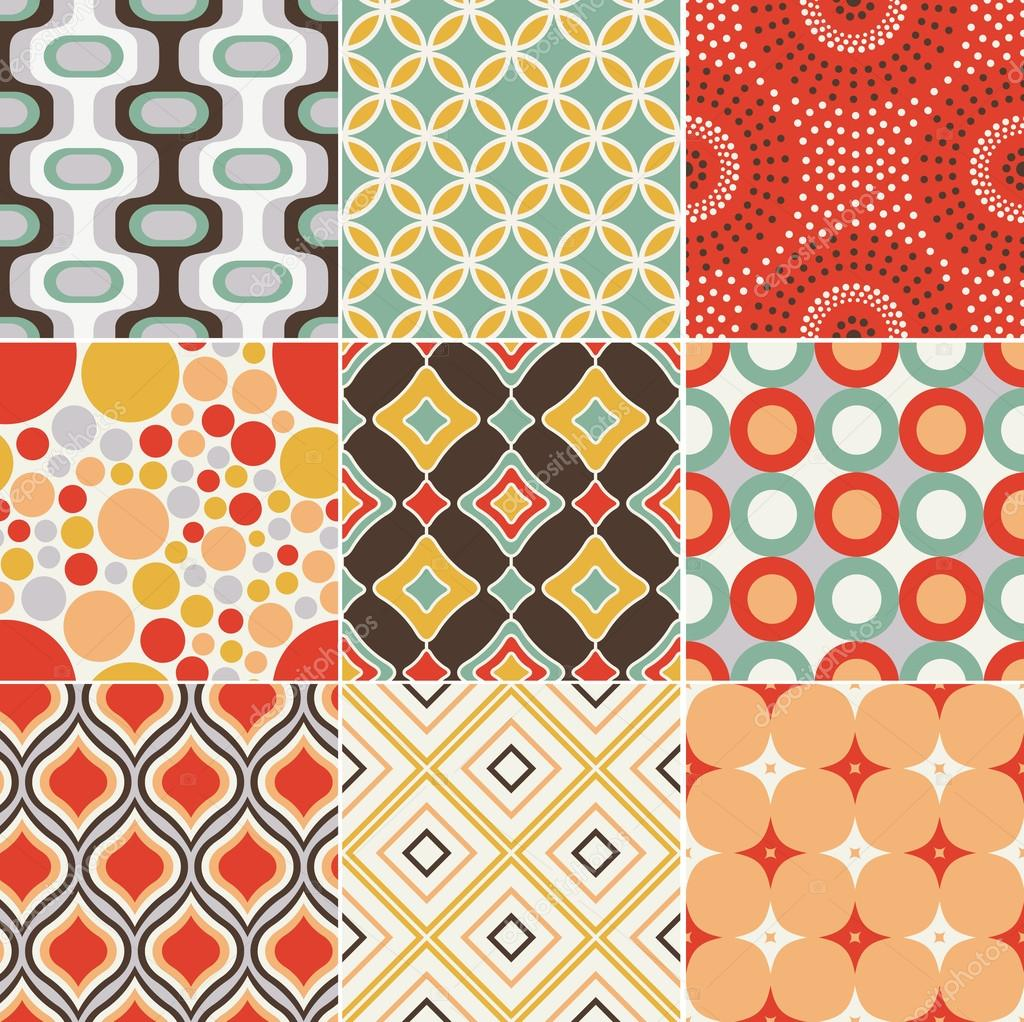 seamless retro pattern — Stock Vector #18880323