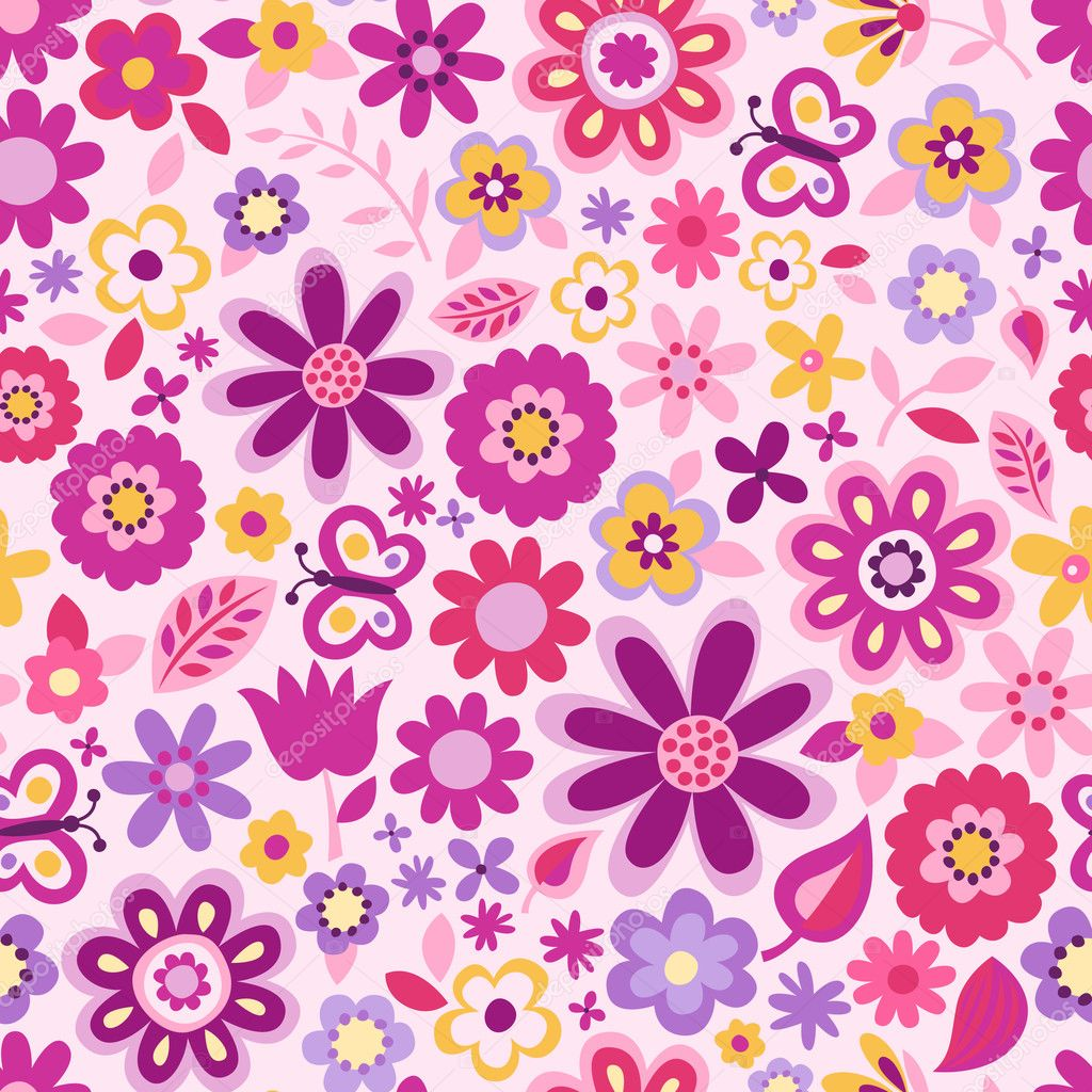 Flower Background Twitter