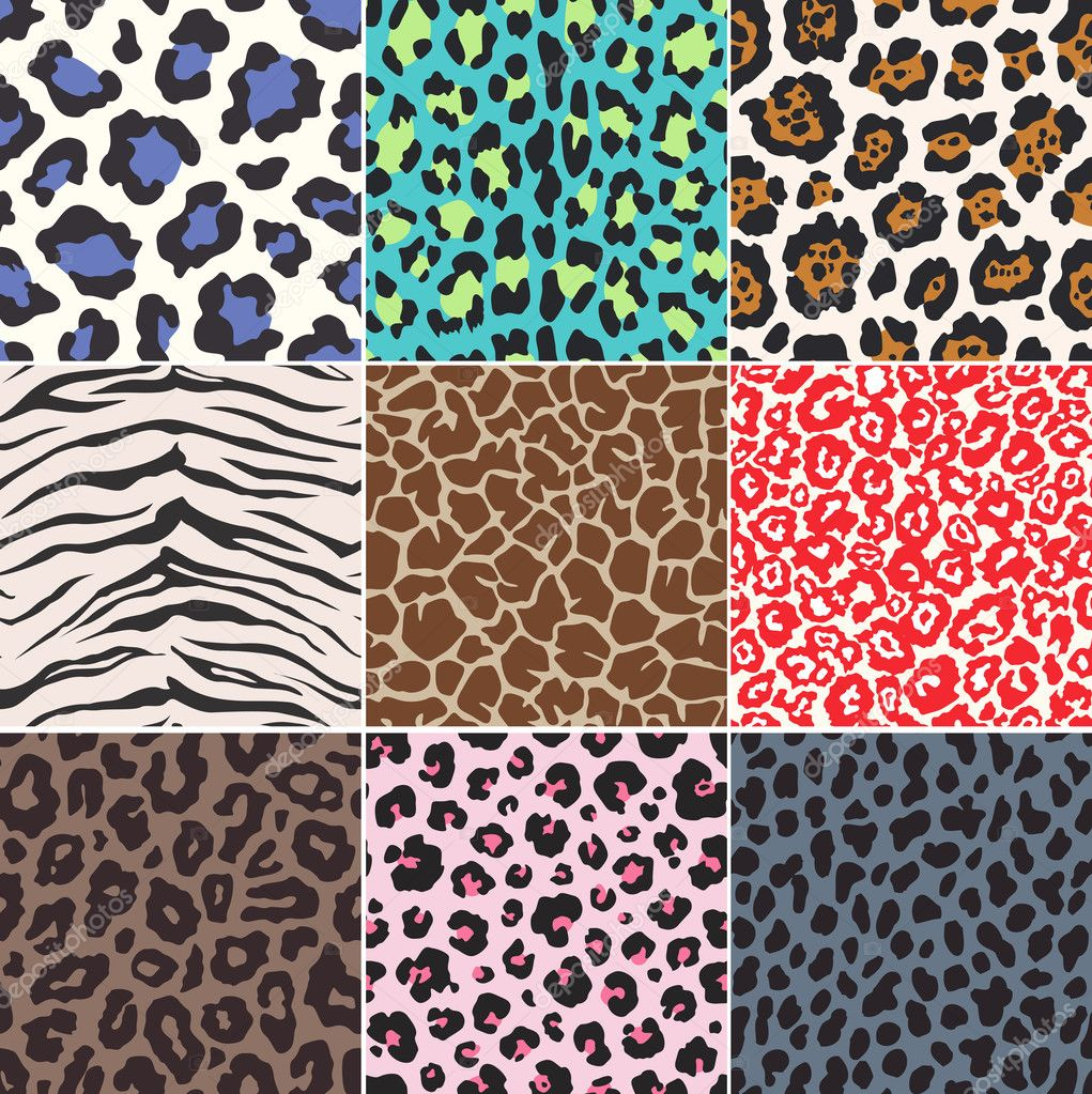 animal skin patterns seamless - photo #33