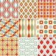 Seamless retro pattern — Stock Vector #25235861