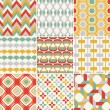 Seamless retro pattern — Stock Vector #25235873