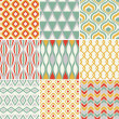 Seamless retro pattern — Stock Vector #25235881