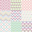 Seamless Retro Pattern Print — Stock Vector #25546623