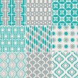 Seamless retro pattern print — Stock Vector #26351845