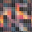 Seamless abstract mosaic background — Stock Vector