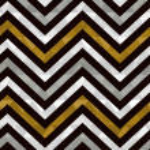 Seamless gold zig zag pattern — Stock Vector