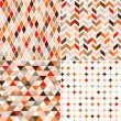 Seamless retro pattern background  — Vektorgrafik