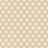 Seamless retro dots pattern background — Stock Vector