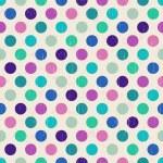 Seamless retro polka background — Stock Vector #27482999