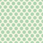 Seamless grunge circles polka dots background texture — Stock Vector