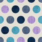 Seamless Colorful Textured Polka Dots — Stock Vector