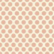 Seamless retro grunge polka dots background — Stock Vector #30659467