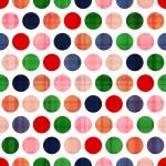 sömlös prickar mönster — Stockvektor