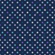 Vector de stock : Retro polka dots texture, seamless pattern