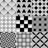 单色抽象无缝背景 — 图库矢量图片