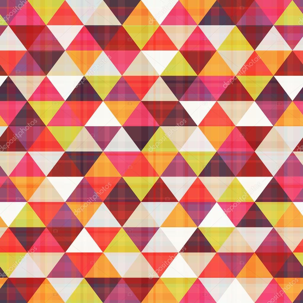 Texture motif triangle sans soudure — Image vectorielle pauljune © #30939771