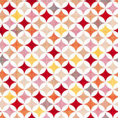 Seamless circles background texture — Stock Vector