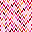 Stock Vector: Seamless geometric chevron pattern