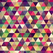 Seamless triangle pattern texture — Stock Vector