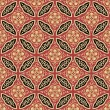 Seamless japanese interlocking pattern — Vettoriali Stock