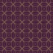 Seamless interlocking mesh geometric pattern — Vettoriale Stock #37087671