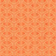 Seamless interlocking mesh geometric pattern — Vettoriale Stock #37087687