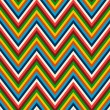 Seamless retro zig zag pattern  — Stock Vector