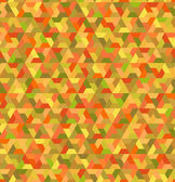Seamless geometric orange green pattern — Stock Vector