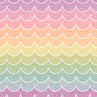 Seamless pastel wave pattern — Stock Vector #37611419
