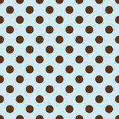 Seamless retro polka dots pattern — Stock Vector
