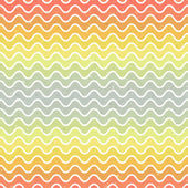Seamless gradient wave pattern — Stock Vector