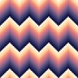 Stock Vector: Seamless pixelated chevron pattern
