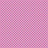 Seamless polka dots texture background — Stock Vector