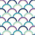 Seamless geometric circles pattern — Stock Vector