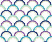 Seamless geometric circles pattern — Vetorial Stock