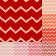 Stock Vector: Seamless red chevron pattern