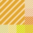 Seamless yellow colors stripes background — Stock Vector