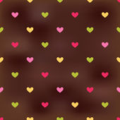 Seamless heart pattern background — Stock Vector