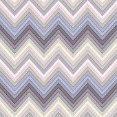 Seamless multicolor horizontal fashion chevron pattern — Stock Vector