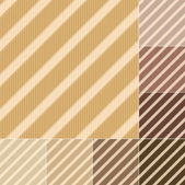 Seamless brown, earth tone stripes pattern — Stock Vector