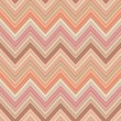 Seamless pink and orange colors horizontal fashion chevron pattern — Stock Vector