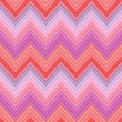 Stock Vector: Seamless pink, fuchsia and red colors horizontal fashion chevron pattern