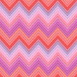 Seamless pink, fuchsia and red colors horizontal fashion chevron pattern — Stock Vector
