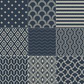 Seamless geometric pattern grain paper texture — Stock Vector