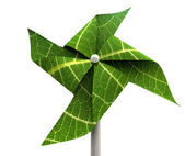 Windmill Green Energy — Stock Photo